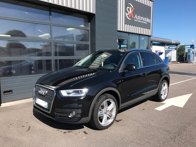 audi q3 177ch stronic quattro ambition luxe garage. Black Bedroom Furniture Sets. Home Design Ideas